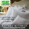 供应EN ISO12952-2枕头阻燃测试
