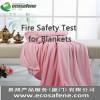 提供服务被子,毯子ISO12952防火测试