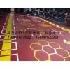 遂宁健身房地胶PVC塑胶地板运动地板私教地板